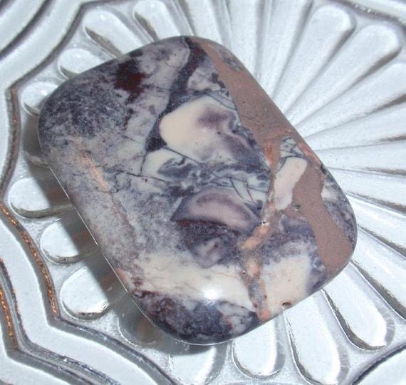Porcelain Jasper Rectangle Gemstone Pendant