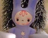 Tippy, the True Blue Snow Bunny