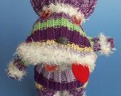 Schneider, the Sweater Sock Schnauzer
