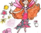 cuTESy cARDs by EVE - Petrina N Her Fashionista Feline, Butterfly Park Fairies Series