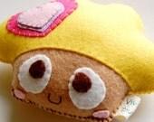 Yummy Cupcake  Eco Friendly Plush Toy