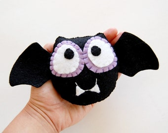 Frederic The Eco Friendly Vampire Bat Plush Monster