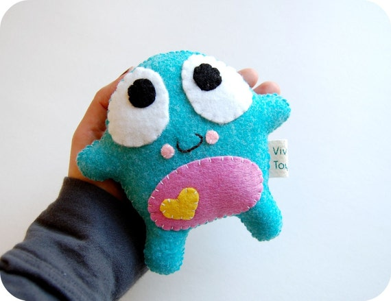 Hurry Last One Available! Poko Eco Friendly Plush Toy Monster