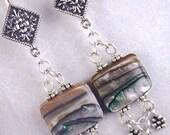 Shimmering Sea Earrings