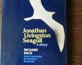 Jonathan Livingston Seagull Vintage Hardbound 1970 Original print - FREE SHIPPING