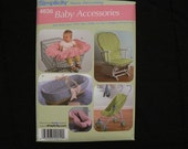 Brand New Simplicity 4636 Baby Accessories PATTERN