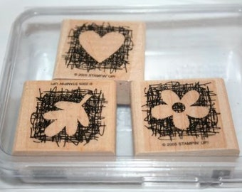 Stampin Up Set Made from Scratch