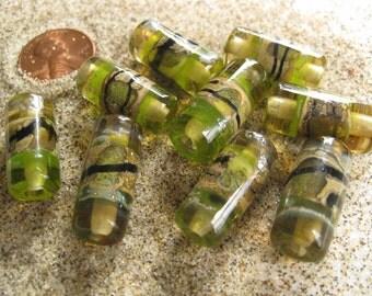stoursglass   The Dunes  Lampwork Beads
