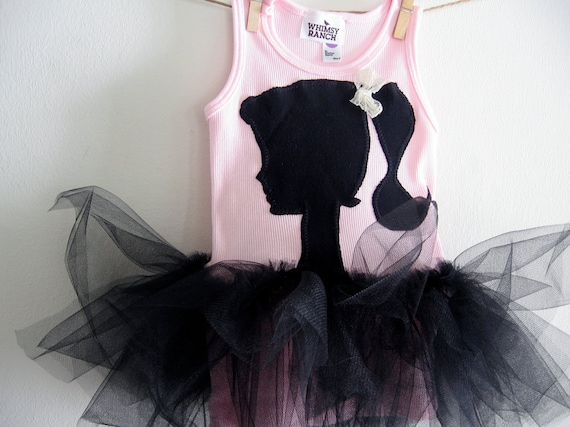 VINTAGE BARBIE  - Tank Top Tutu -  Birthday tutu or just for fun - Infant sizes,  2, 4, 6, 8 and all the way up