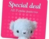 Special Deal - All Pepika Amigurumi Patterns