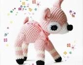 Amigurumi Crochet Fawn Pattern - Amigurumi Fawn - Softie - Plush
