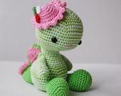Amigurumi Pattern - Miss Dragon