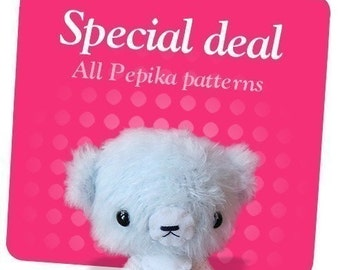 Special Deal - All Pepika Amigurumi Crochet Patterns