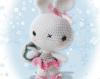 Amigurumi Crochet Easter Bunny Pattern - Softie - Plush