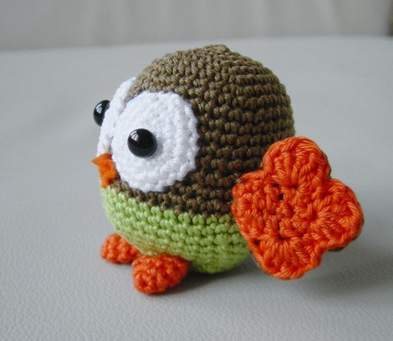 Crochet Pattern Owl Baby : Amigurumi Baby Owl Pattern by pepika on Etsy