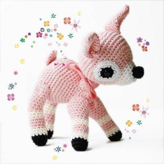 Amigurumi Crochet Pattern - Fawn