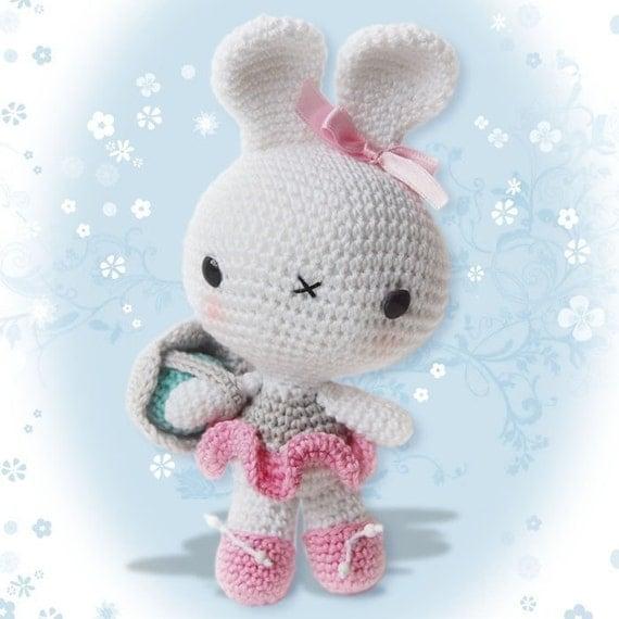 Amigurumi Crochet Easter Bunny Pattern Softie Plush