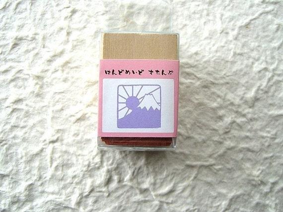 Japanese rubber Stamp Mount Fuji Stamp
