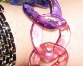 Lucite Links - Great for Necklaces and Bracelets - 60 links - 13 Colors to choose from