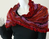 Flamenco Mobius KNITTING PATTERN PDF by Christine Jones