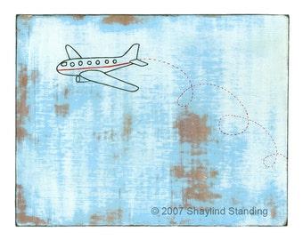 Airplane Print