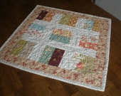 FIG TREE Quilted Table Topper