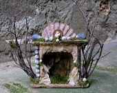 Assemblage Faery Theatre Shadow Box
