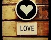 Love Through The Viewfinder Photo Print