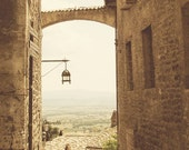 Assisi Italy Street Photo Print 8x10