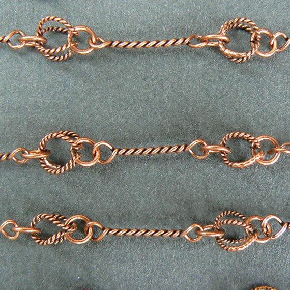 20 Chokers. Copper Colored. That is 75 cents each.