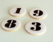 Numbers Refrigerator Magnets Customizable  - Choose yours