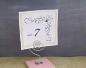Place Card Holders - Table Sign Holder