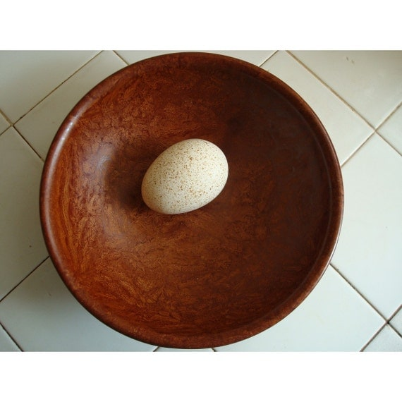 BOLTALITE Melmac Bowl in Faux Bois - Made in USA - 1950