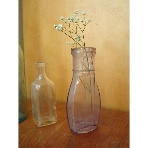 Antique Purple Heinz Bottle -