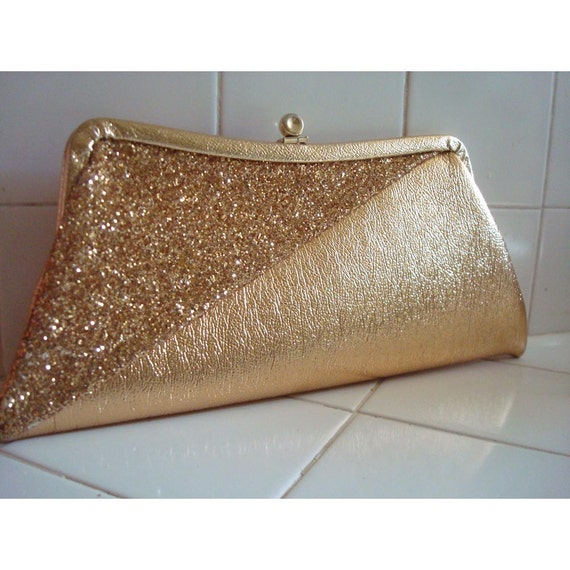 Gold Sparkle Clutch from my Clutch of Cultches