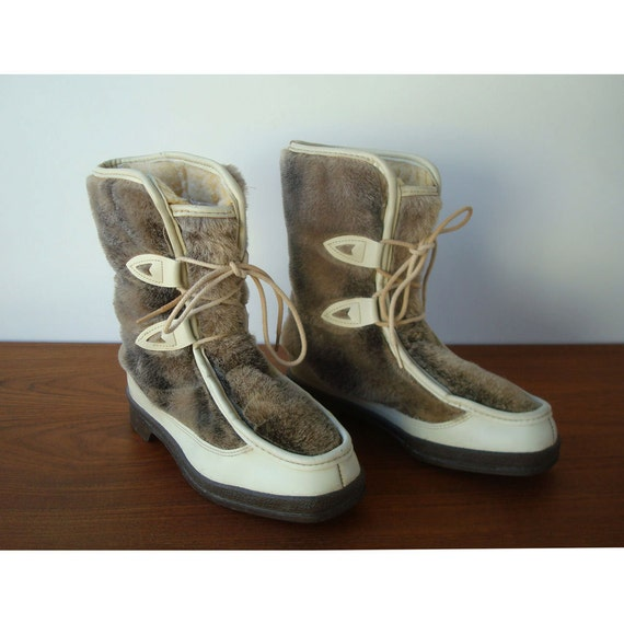 Ladies Apres-Ski Boots Size 8 - Snow Land