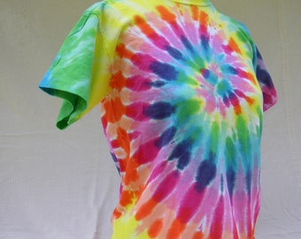 Carnival Spiral Tie Dyed Youth T-shirt