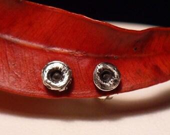 Mini Octopus Suction Cup Earrings Oxidized, Sucker earrings, Octopus jewelry, Tentacle Jewelry, OctopusME, Kraken, Tentacle Earring,
