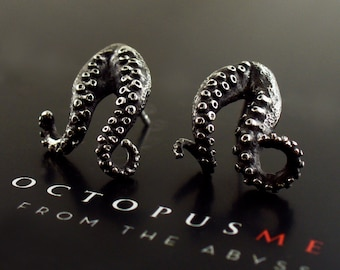 Double Tentacle Earrings