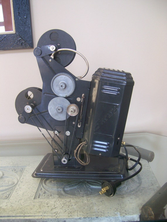 16mm Reel Movie Projectors: Antique Or Old Vintage Excel Projector 16MM Film And Three