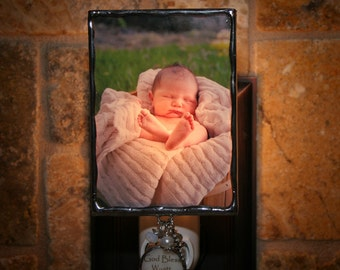 Personalized Photo Night Light Unique Photo Gift