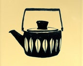 Coffee Pot on Butter Tile