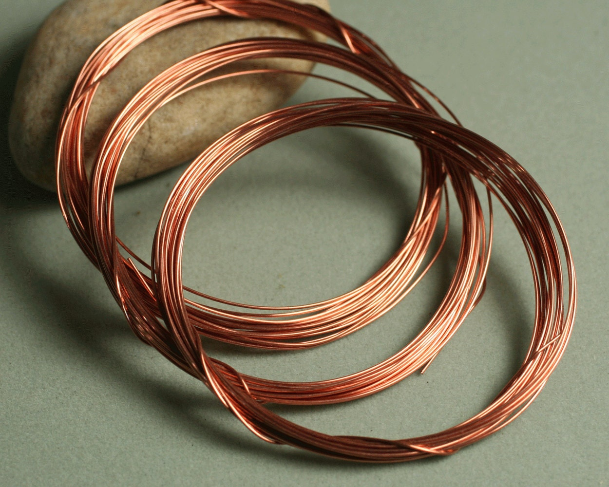 Solid Copper Wire : Solid copper wire g ft item id scw