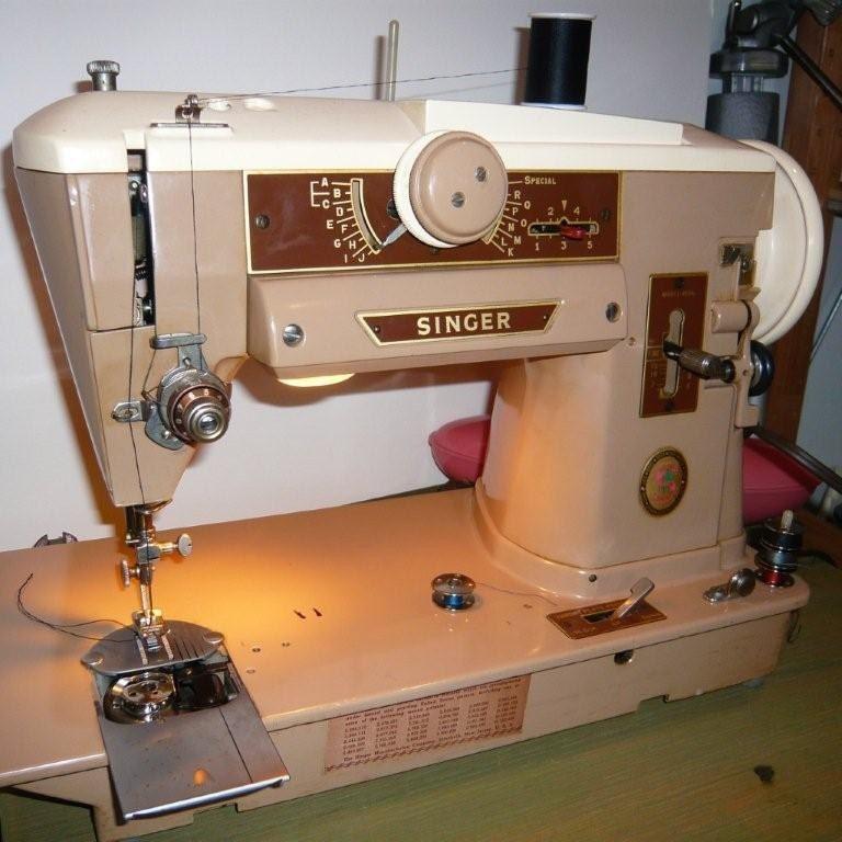singer slant sewing machine