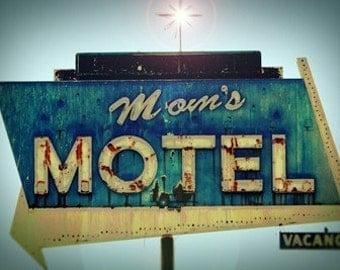 Moms Motel - 11x14  Fine Art Photographic Print