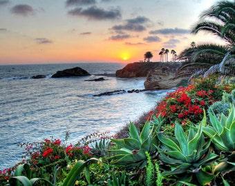 Laguna Beach - Goff Cove Sunset 2 - 11x14 Fine Art Photographic Print