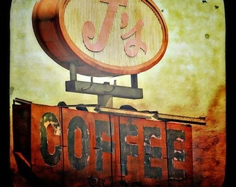 J's Coffee - 8x8 Fine Art Photographic Print