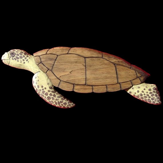 Turtles, Loggerhead Turtle - 3 ft.