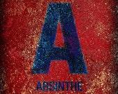 Alphabet Series - Letter A - 8x8