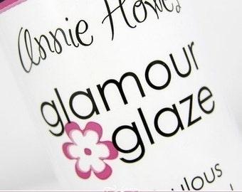 Glass Tile Glaze. Glamour Glaze for Scrabble Pendants, Glass Pendants, Bottle Caps, Scrapbooking and Decoupage.